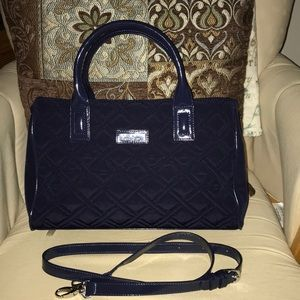 Like New Vera Bradley Triple Compartment Satchel